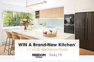 Network 10 – Studio 10 – Win a major prize package of Freedom Kitchen valued at up to $20,000 OR 1 of 50 minor prizes of an InAlto Kitchen appliance pack