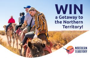 Network 10 – The Project – Win a 9-night getaway to Northern Territory for 2 valued over $11,000