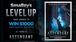 Novafm – Smallzy's Level Up! – Win 1 of 4 cash prizes valued at $1,000 each
