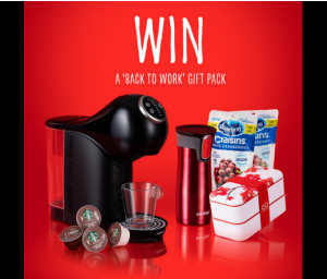 Ocean Spray – Win a Dolce Gusto Genio S Plus Starbucks bundle plus more