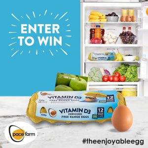 Pace Farm – The Enjoyable Egg – Win 1 of 10 Woolworth's gift vouchers valued at $50 each