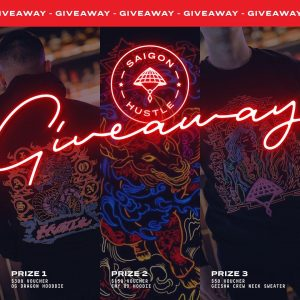 Saigon Hustle – Win 1 of 3 vouchers to use at the restaurant
