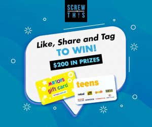 Screw This – Win gift cards valued at $200