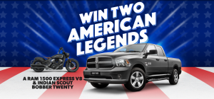 Shannons – Win a prize package including a new Ram 1500 Express V8 Cab, 12-months Shannons comprehensive car insurance PLUS more