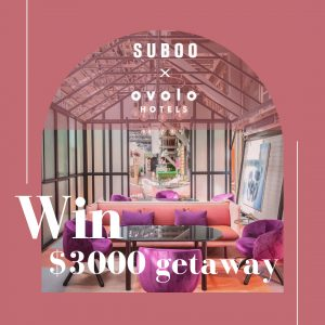 Suboo & Ovolo Hotels – Win an Easter getaway valued up to $3,000