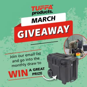 TUFFA Products – March Giveaway – Win a Speedbox
