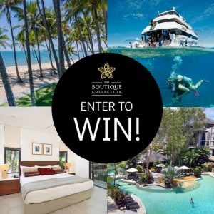 The Boutique Collection – Win a 5-night stay at Sea Temple Palm Cove PLUS a Reef Trip