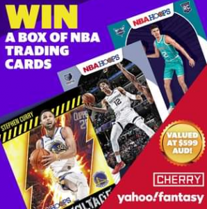 Yahoo Sport Australia – Win a box of NBA Trading Cards valued at over $500