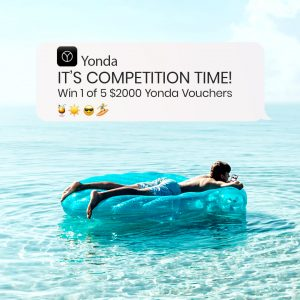 Yonda – Win 1 of 5 holiday vouchers valued at $2,000 each