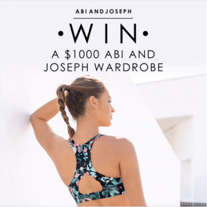 Abi and Joseph – Win a $1,000 gift voucher