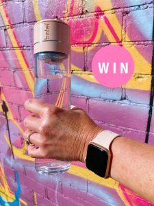 Adelady – Win a smart bluetooth drink bottle and a matching Apple Watch valued over $830