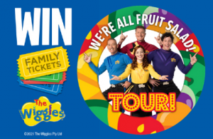 BIG4 Holiday Parks – Win 1 of 17 Family tickets for 4 to Australian Wiggles concert