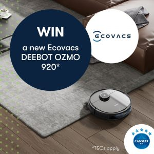 Canstar Blue – Win an Ecovacs Deebot Ozmo 920 valued at $900