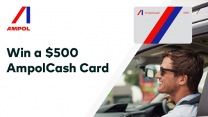 Channel Seven – 'Fuel Your Friday' – Win 1 of 250 Ampol Fuel cards valued at $500 each