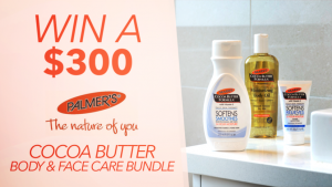 Channel Seven – Sunrise Family Newsletter 'Palmer's – Win a Cocoa Butter Body & Face care prize package valued at $300
