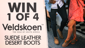 Channel Seven – Sunrise Family Newsletter 'Veldskoen' – Win 1 of 4 pairs of Veldskoen Desert Boots