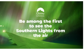 Channel Seven – Sunrise 'Southern Lights By Flight' – Win a trip for 2 to the Southern Lights