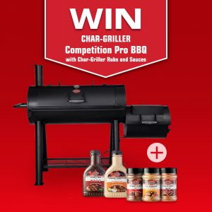 Char-Griller Australia – Win a Char-Griller Pro BBQ & Flavour prize pack valued at over $700