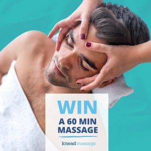Knead Massage – Win a free 60-min massage