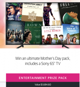 Nationwide News – Win an Entertainment prize pack valued at over $1,600 including a Sony 65″ Led 4K Ultra HD Smart TV