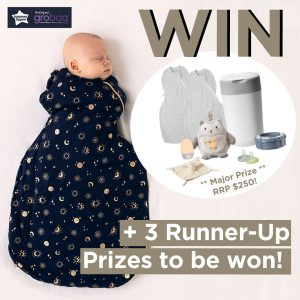 Newbornbaby – Win a major prize of an entire Tommee Tippee sleep time prize pack OR 1 of 3 minor prizes