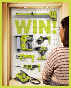 RYOBI – Mother's Day – Win a choice of up to $1,000 of Ryobi tools and a $200 Bunnings Warehouse gift card