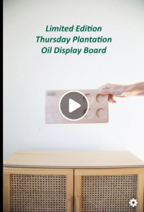 Thursday Plantation – Win the ultimate DIY prize pack