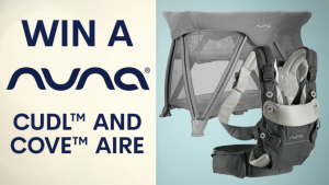 Channel Seven – Sunrise Family Newsletter – Win a Nuna prize pack
