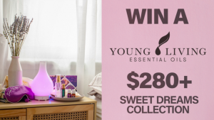 Channel Seven – Sunrise Family Newsletter – Win a Young Living's Sweet Dreams collection valued at over $280