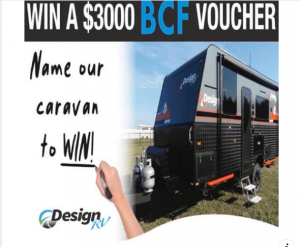 Design RV – Win a $3,000 BCF voucher