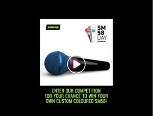 Jands – Win 1 of 3 custom coloured microphones