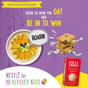 Nestle – N4HK and Uncle Tobys Oat – Win 1 of 6 Visa gift cards valued at $100 each