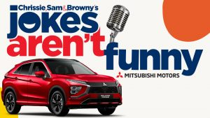 Nova 100 – Melbourne – Jokes Aren't Funny – Win a brand new Mitsubishi Eclipse Cross automatic valued up to $30,000