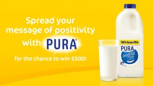 Nova 919 & Nova 100 – Pura Positivity – Win 1 of 25 prizes of $500 each
