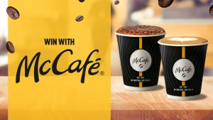 Nova Perth – Win 1 of 6 McCafe prize packs of 10 Coffees delivered to the winner's work place PLUS a $150 McCafe voucher