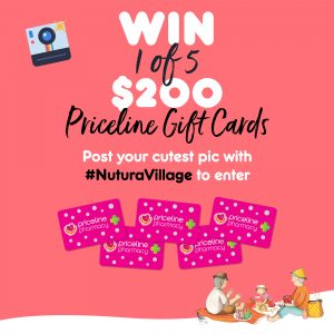 Nutura – Win 1 of 5 Priceline Pharmacy vouchers valued at $200 each