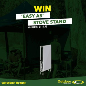 Outdoor Connection – Win a lightweight, compact folded flat-pack stove stand