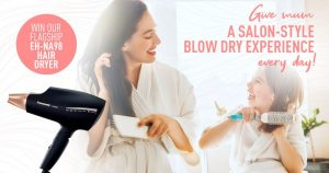 Panasonic – Beauty Hair Dryer – Win a Panasonic Moisture Infusing Hair Dryer for mum