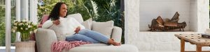 Plush – Think Sofas – Win 1 of 2 Snuggle Sofa Swivel Chairs valued at $2,398 each