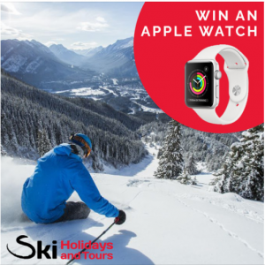 Ski Holidays and Tours – Win an Apple Series 3 watch