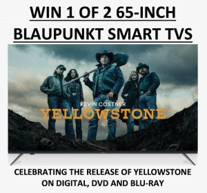 TechGuide.com.au – Win 1 of 2 Blaupunkt Smart Led TVs and 10 YellowStone Blu-ray Boxsets OR other 8 prizes