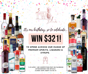 3Two1 Drinks – Win online store credit valued at $321