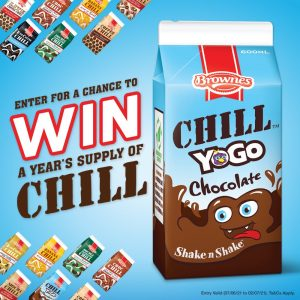 Brownes Foods – Win a Years Supply of Chill