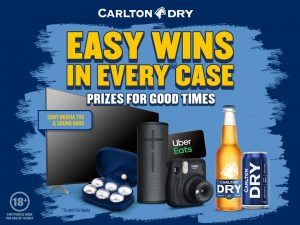 CUB – Carlton Dry House of Dry 2021 – Win 1 of 1,100,000 instant win prizes
