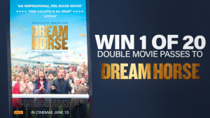 Channel Seven – Sunrise Family Newsletter 'Dream Horse' – Win 1 of 20 double passes to see the flim
