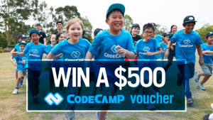 Channel Seven – Sunrise Family Newsletter – Win a $500 voucher to be used towards a Code Camp