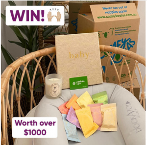 Comfy Koalas – Win a prize pack for mum and bub