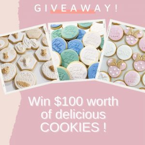 CookieHQ – Win $100 worth of cookies for your next event