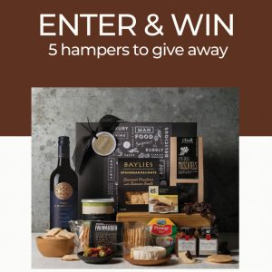 Gourmet Basket – Win 1 of 5 Cheese and Wine hampers