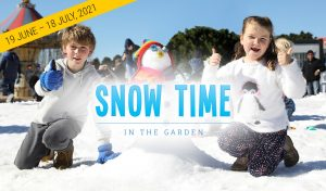 Hunter Valley Gardens – Win 1 of 3 Family passes to Snow Time in the Garden at Hunter Valley Gardens